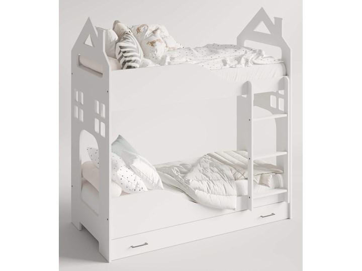 Łóżko piętrowe Evert Kategoria Łóżka dla dzieci Rozmiar materaca 80x160 cm