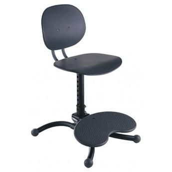 Krzesło dla dziecka z regulacją wysokości Kinnarps Casper szary plastik