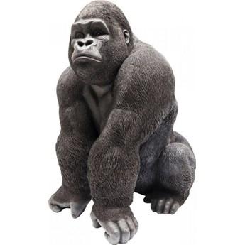 Dekoracja stojąca Gorilla Front 90x107 cm czarna