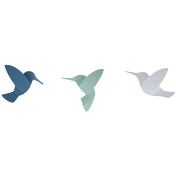 Dekoracje ścienne Hummingbird (9-set) 10x13 cm