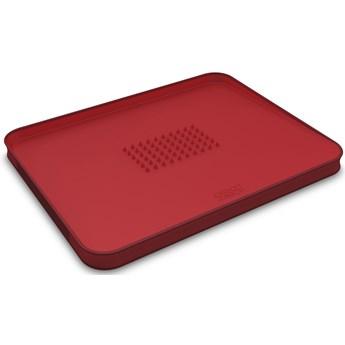 Deska CutCarve 38x30 cm czerwona