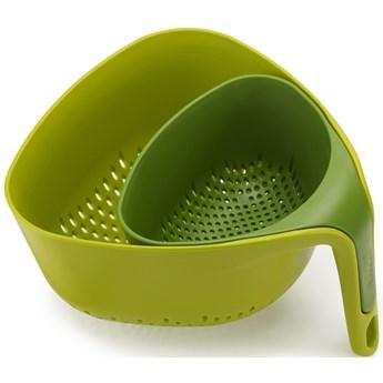 Durszlaki Nest 24x13 cm zielone (2-set)