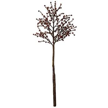 Dekoracja stojąca Flora Berry 22x58 cm ciemnoczerwona