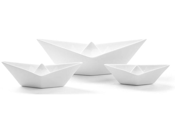 Figurki dekoracyjne Memorabilia My Boats (3-set) białe
