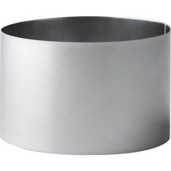 Forma do podawania jedzenia Galzone Circle 9x9 cm srebrna