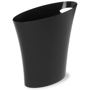 Kosz na śmieci Skinny 34x33 cm czarny