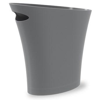 Kosz na śmieci Skinny 34x33 cm grafitowy