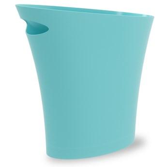 Kosz na śmieci Skinny 34x33 cm niebieski