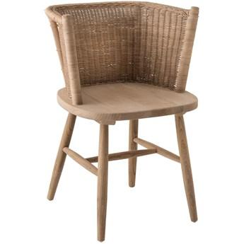Krzesło Nunur 57x77 cm naturalne