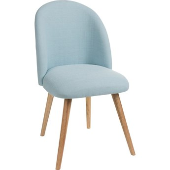 Krzesło Vincent 48x83 cm jasnoniebieskie