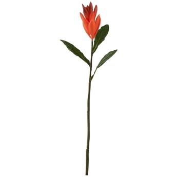 Kwiat dekoracyjny Lily 51 cm pomarańczowy