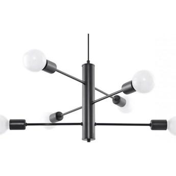 Lampa wisząca Duomo 60x60 cm 6D czarna