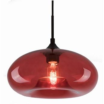 Lampa wisząca London Loft No.3 R ∅28x150 cm czerwona