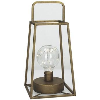 Latarenka Lone LED 15x30 cm miedziana