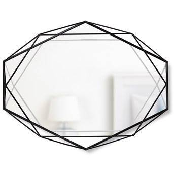 Lustro Prisma 43x57 cm czarne