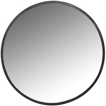 Lustro wiszące Dayira Ø50 cm czarne