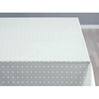 Obrus Squares 140x320 cm biały