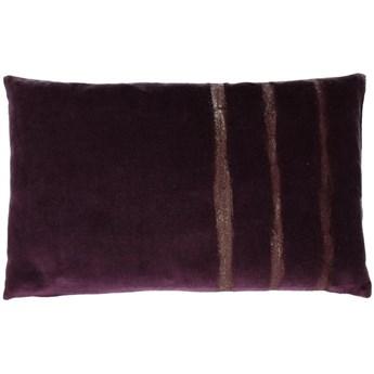Poduszka dekoracyjna Glory 50x30 cm fioletowa