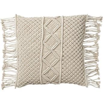 Poduszka dekoracyjna Marcille 50x50 cm off-white