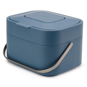 Pojemnik na odpadki organiczne z filtrem Stack 23x20 cm niebieski