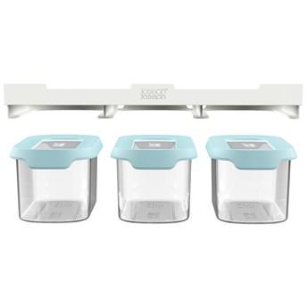 Pojemniki Cupboard Store S transparentne (3-set)