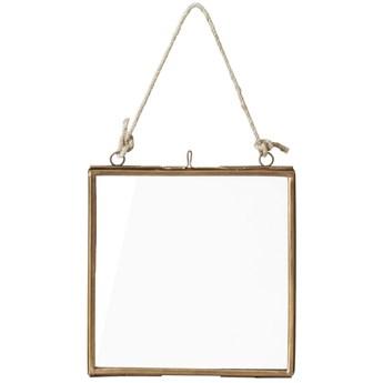 Ramka na zdjęcia Auria 15x16 cm złota
