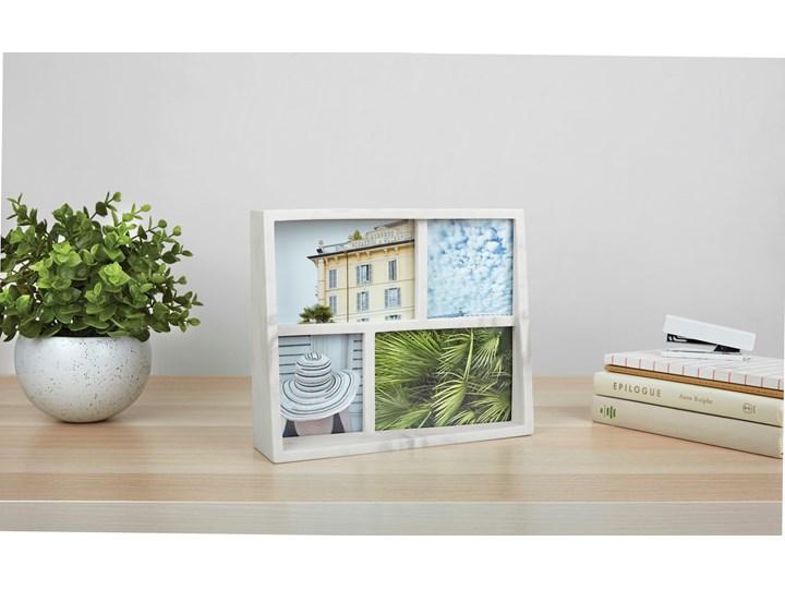 Ramka na zdjęcia Edge 26x21 cm biała Kolor Biały Kategoria Ramy i ramki na zdjęcia