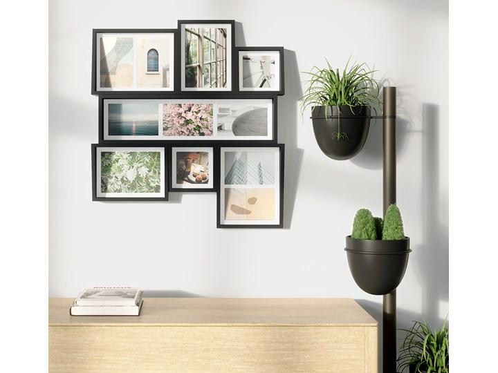 Ramka na zdjęcia Edge Mutli Wall 53x58 cm czarna Kolor Czarny Kategoria Ramy i ramki na zdjęcia