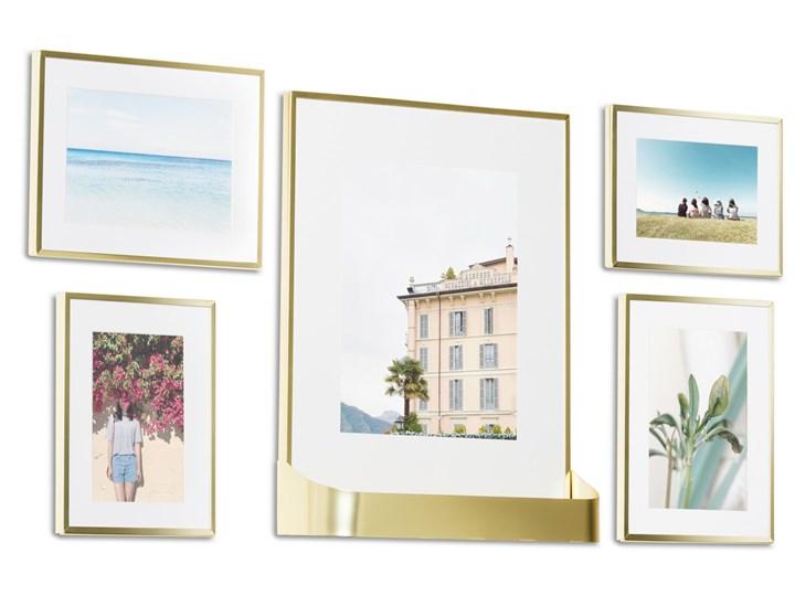 Ramki na zdjęcia Matinee (5-set) złote Rozmiar zdjęcia 10x15 cm