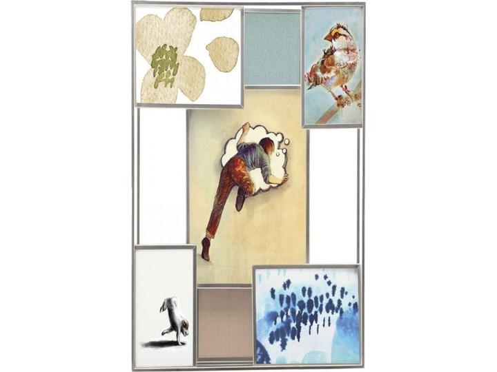 Ramka na zdjęcia Matrix 38x45 cm srebrna Kategoria Ramy i ramki na zdjęcia Multiramka Metal Kolor Srebrny