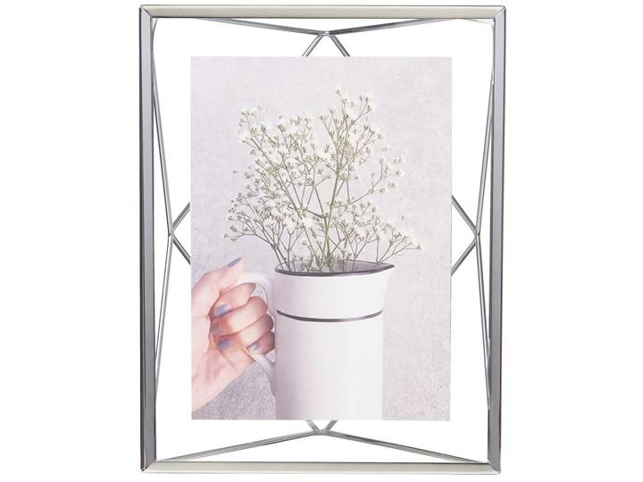 Ramka na zdjęcia Prisma 18x23 cm srebrna Kolor Srebrny Stojak na zdjęcia Metal Rozmiar zdjęcia 13x18 cm