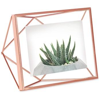 Ramka na zdjęcia Prisma 20x15 cm miedziana
