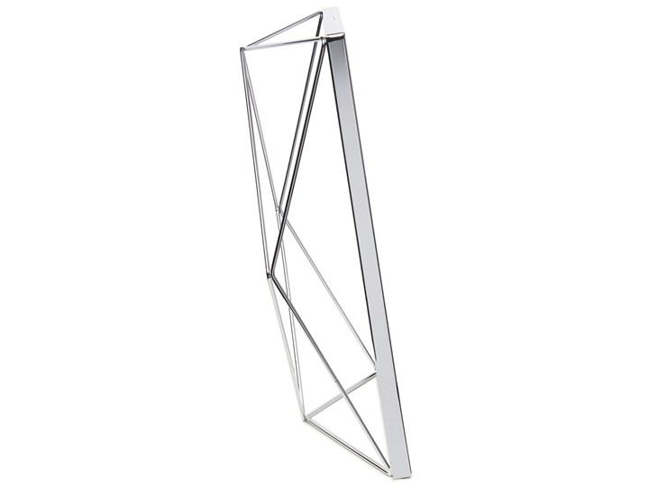 Ramka na zdjęcia Prisma 25x31 cm srebrna Kolor Srebrny Metal Stojak na zdjęcia Pomieszczenie Salon