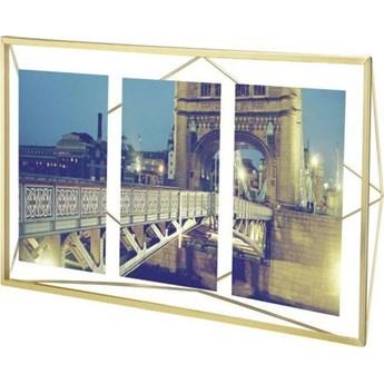 Ramka na zdjęcia Prisma 48x23 cm miedziana v