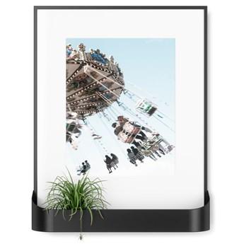 Ramka na zdjęcia z półką Matinee 31x39 cm czarna
