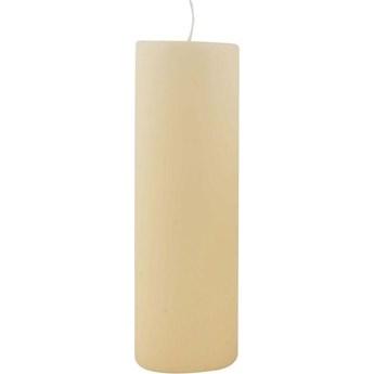 Świeca ∅6x20 cm kremowa