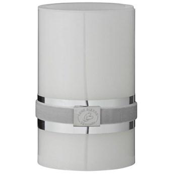 Świeca LED Pillar Ø8x12 cm biała