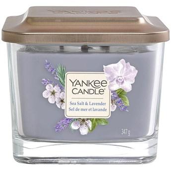 Świeca zapachowa z 3 knotami Yankee Sea Salt  Lavender
