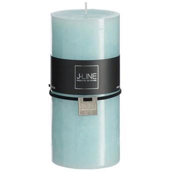 Świeczka Aqua L 15cm niebieska 72h