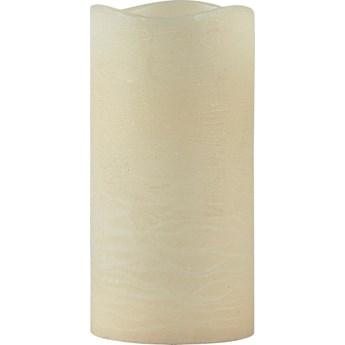 Świeczka LED Decor 10x20 cm kremowa