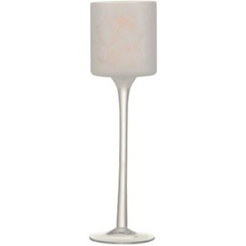 Świecznik na tealighty Janic Ø7x25 cm różowy