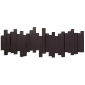 Wieszak Sticks duży 50x18 cm brązowy