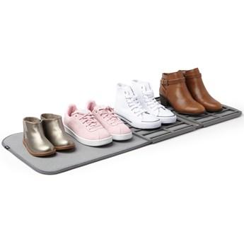 Wycieraczka składana Shoe Dry z ociekaczem 33x90 cm szara
