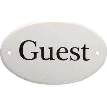 Zawieszka metalowa Guest