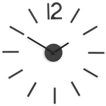Zegar ścienny Blink czarny