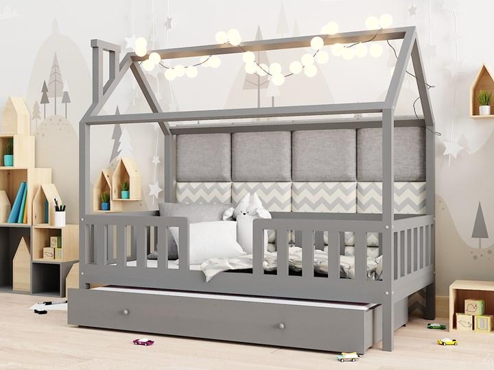 Łóżeczko RYŚ | z funkcją spania, szary Domki Drewno Kategoria Łóżka dla dzieci