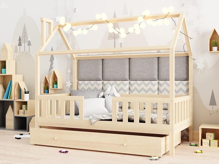 Łóżeczko RYŚ   z pojedynczą szufladą, sosna Drewno Domki Kategoria Łóżka dla dzieci