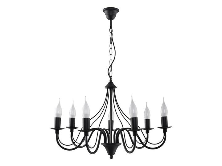 żyrandol minerwa 7 czarny Kategoria Lampy wiszące