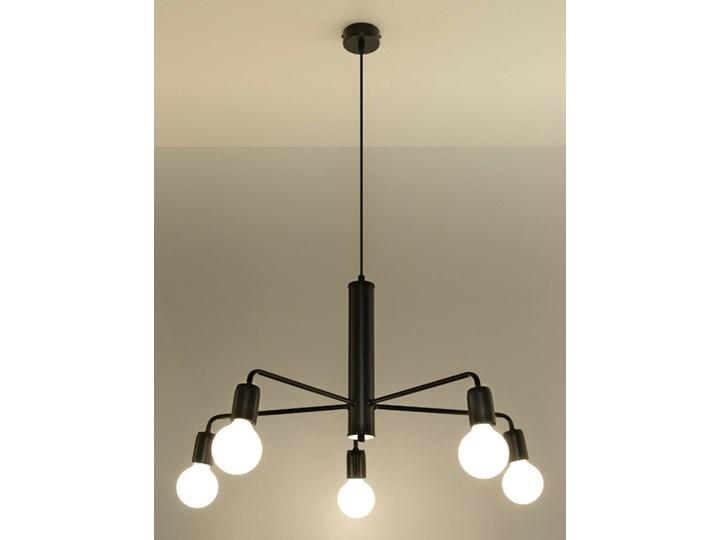 żyrandol duomo 5 Kategoria Lampy wiszące Kolor Czarny