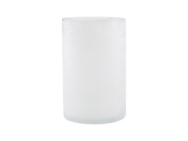 House Doctor - Świecznik White Mist L Szkło Kolor Biały